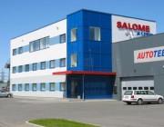 Salome autokeskus Tallinnas, Mustamäel Kadaka teel  Valmimisaeg - Sügis 2002